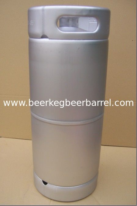 US standard beer keg 20L capacity, slim barrel shape, for brewery and beverage storage