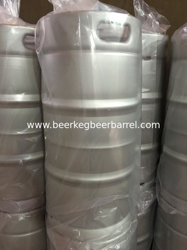 US beer barrel 30L capacity, stackable , pickling and passivation, for brewing beer , and beverages