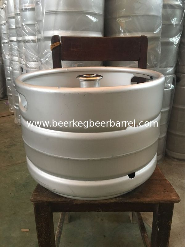 Stainless steel beer keg 20L capacity, with A type fitting automatic TIG welding for hand craft beer storage