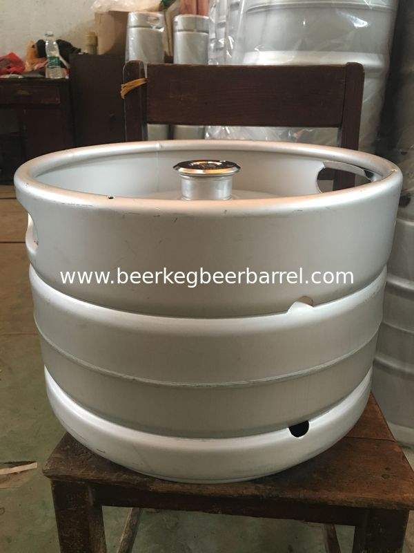 20L Stainless steel beer keg , returnable use, food grade material, with A type fitting for brewing