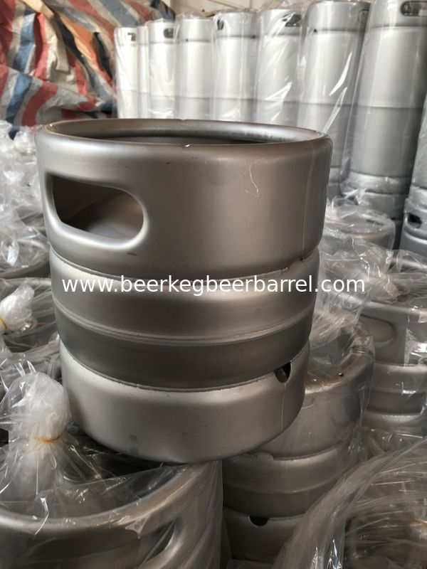 5L US standard beer keg barrel shape, made of stainless steel 304, logo emboss, for brewery
