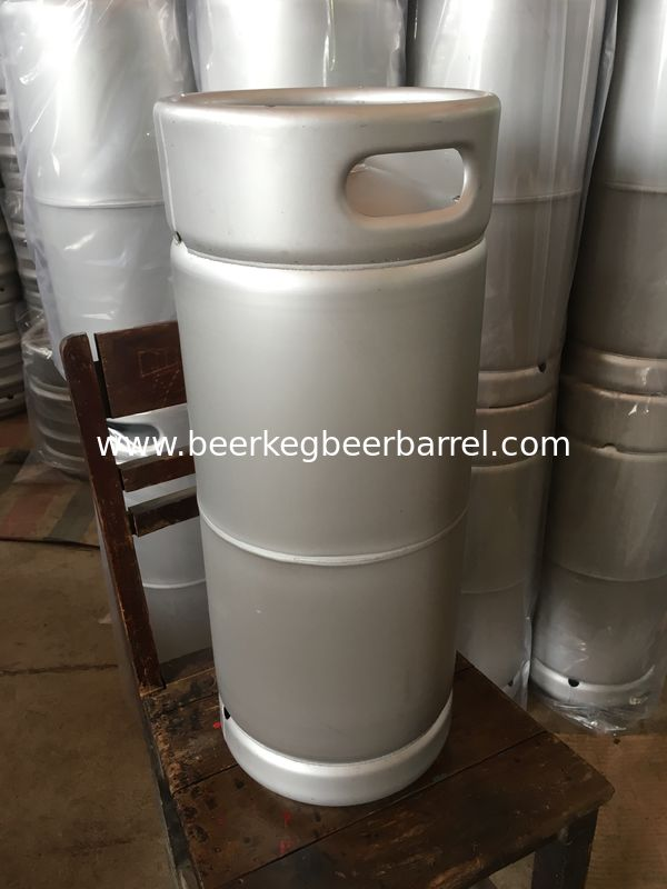 US beer barrel 5.16gallon empty beer keg with sankey D type spear for brewery