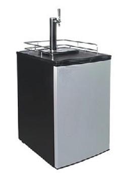 Kegerator beer keg cooler dispenser