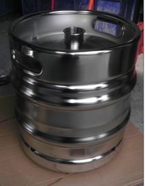 China beer keg with mirror polished on surface , for brewery use factory