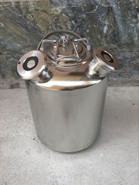 10L cleaning keg with one head or two heads or three heads spears for beer brewing use