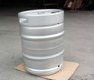 China 50L Europe beer keg , stackable , with logo embossing on handle, EPDM rubber spear, for brewery factory