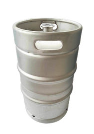 China stainless steel DIN beer keg 50L Volume ,with A type spear fitting, for beer brewery factory