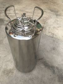China Stainless steel ball lock keg 18.5L with metal handle, for home brew and beer factory factory